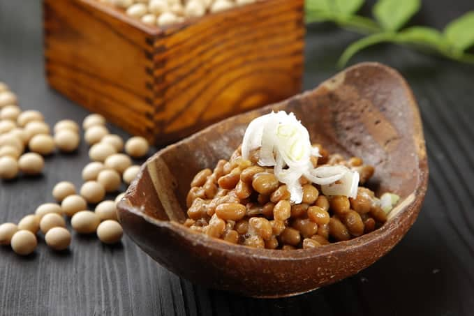 Fermented soy beans, or <i>natto</i>, which many find to be an acquired taste.