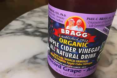 Bragg concord grape acai bottle