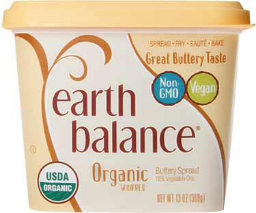 Earth Balance organic whipped