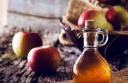 apple cider vinegar bottle