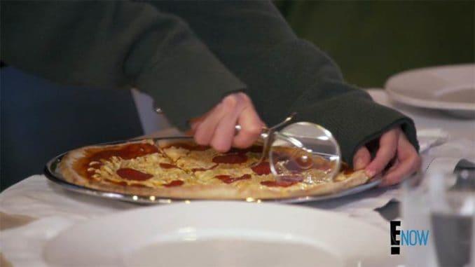 dairy free pizza on Kardashians