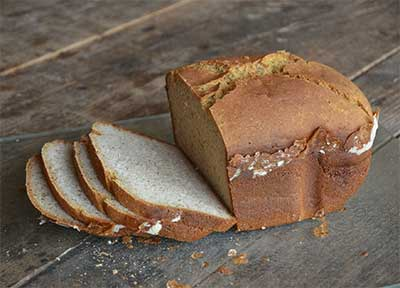 gluten free bread, sliced
