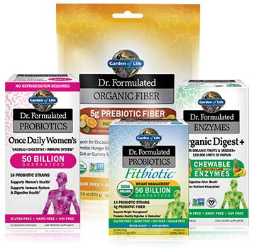 Garden of Life Dr. Formulated line of probiotics