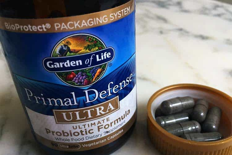 Garden of Life Primal Defense probiotics