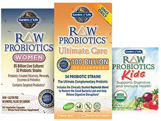 2016 Test Reviews Garden of Life Probiotics Primal Defense vs RAW