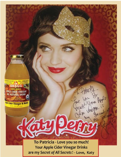celebrity Katy Perry quote about ACV