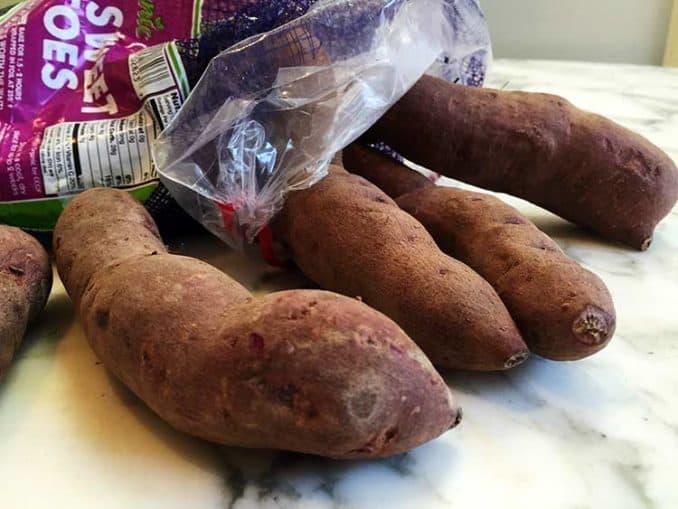 raw Stokes purple potatoes