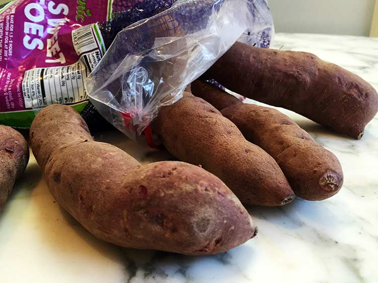 raw Stokes purple potatoes