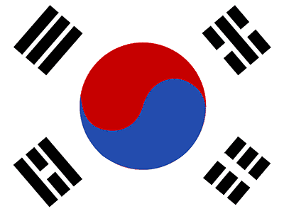 South Korea's flag
