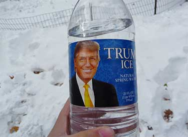 Trump brand bottled water