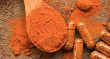 turmeric powder and capsules