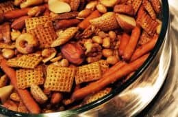 homemade vegan gluten free Chex Mix