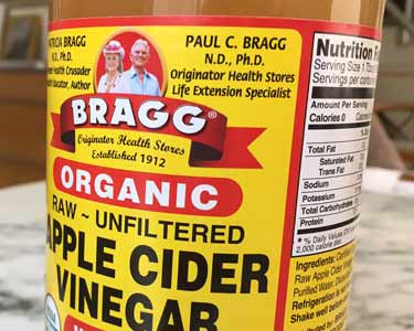 Bragg ACV bottle