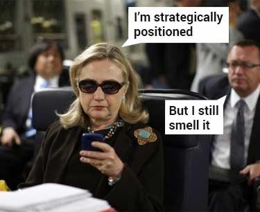 Hillary Clinton parody