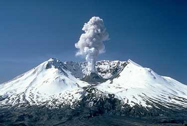 Mount St. Helen eruption