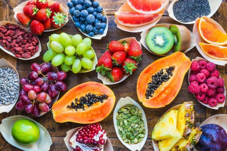 what fruit has the most protein healthy fruit dessert