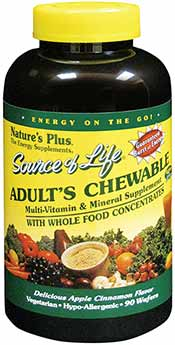 Source of Life adult chewable multivitamin