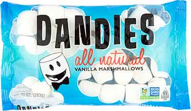 bag of vanilla Dandies