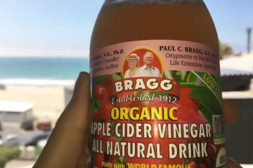 Bragg apple cider vinegar drink photo