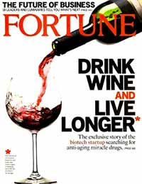 Fortune Magazine cover, Vol 155, No. 2.