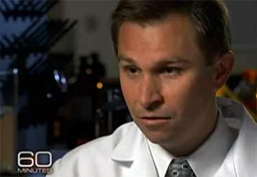 David Sinclair on 60 Minutes TV show
