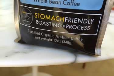 organic Arabica beans