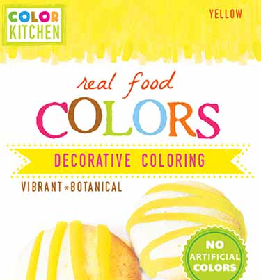 Colorkitchen natural yellow food dye