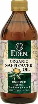 Eden Organic safflower oil