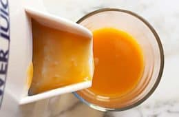 raw fresh pumpkin juice
