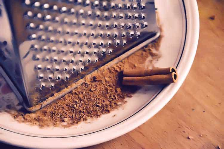 freshly ground cinnamon
