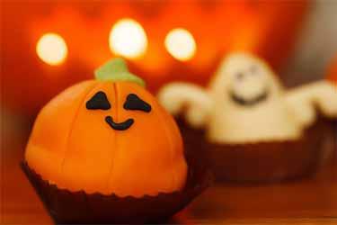 Halloween baked goods
