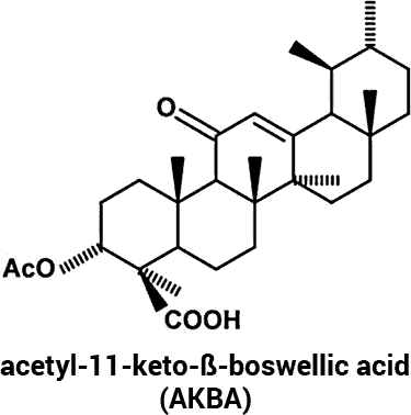 acetyl-11-keto-ß-boswellic acid chemical structure