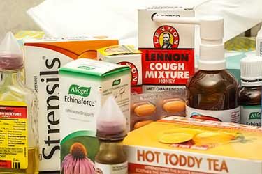 over the counter cold medications