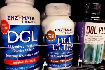 Enzymatic Therapy DGL supplements