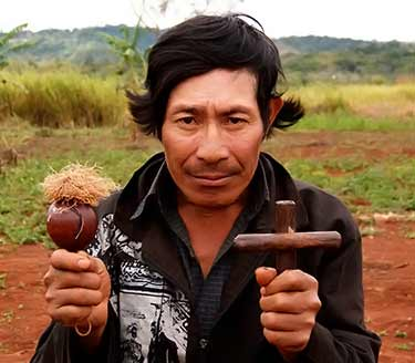 Guarani shaman