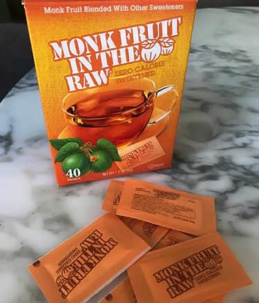 box of Monk Fruit In The Raw