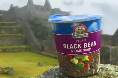 McDougall's black bean soup