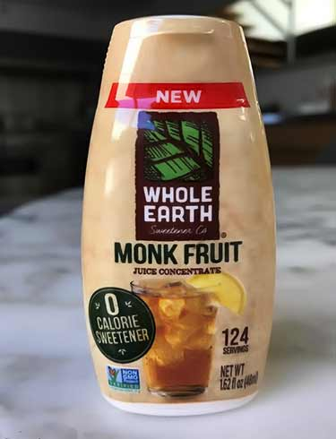 sugar in fruit monk fruit extract