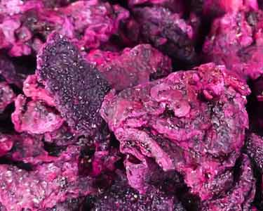 what dried red pitaya looks liked