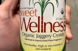 Sweet Wellness organic jaggery crystals