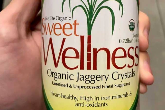 Sweet Wellness organic jaggery crystals