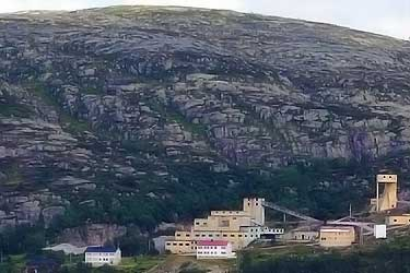 Knaben molybdenum mine in Norway