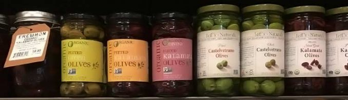 good olive brands on grocery store shelf