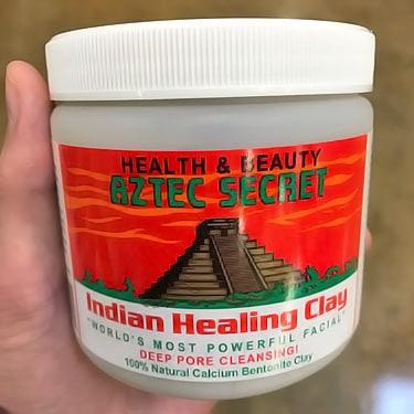 Aztec Secret Indian bentonite