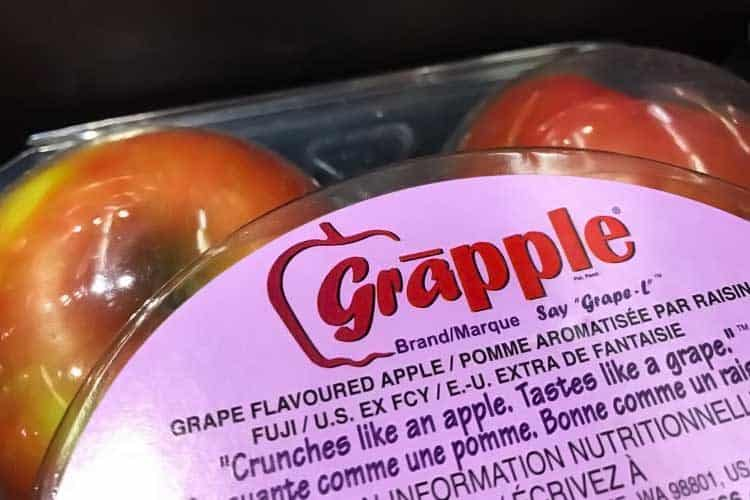 What S Worse Gmo Arctic Apple Or Grape Grapple Fruit