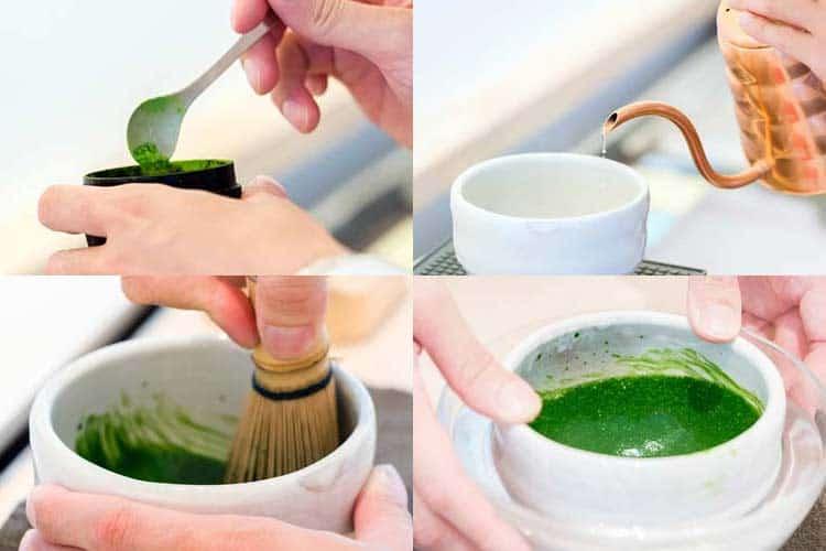 matcha preparation