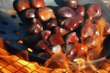 chestnuts roasting over open fire