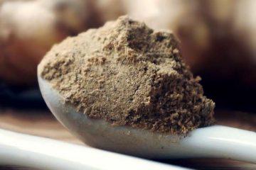 spoon of triphala powder