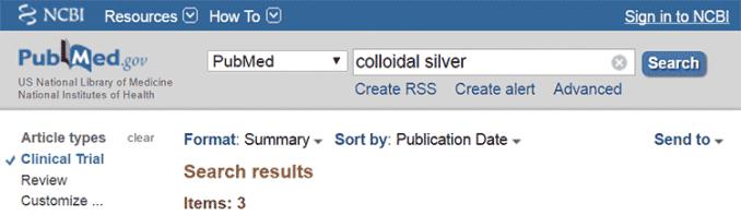 clinical trials for colloidal