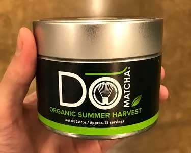 Domatcha organic summer harvest canned powder